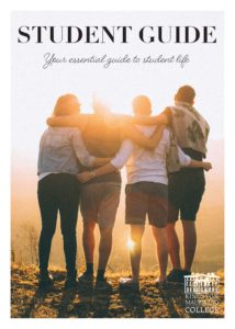 Student Guide cover for Kingston Maurward College.