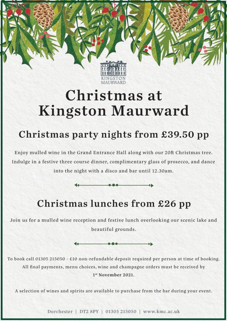 Christmas at Kingston Maurward