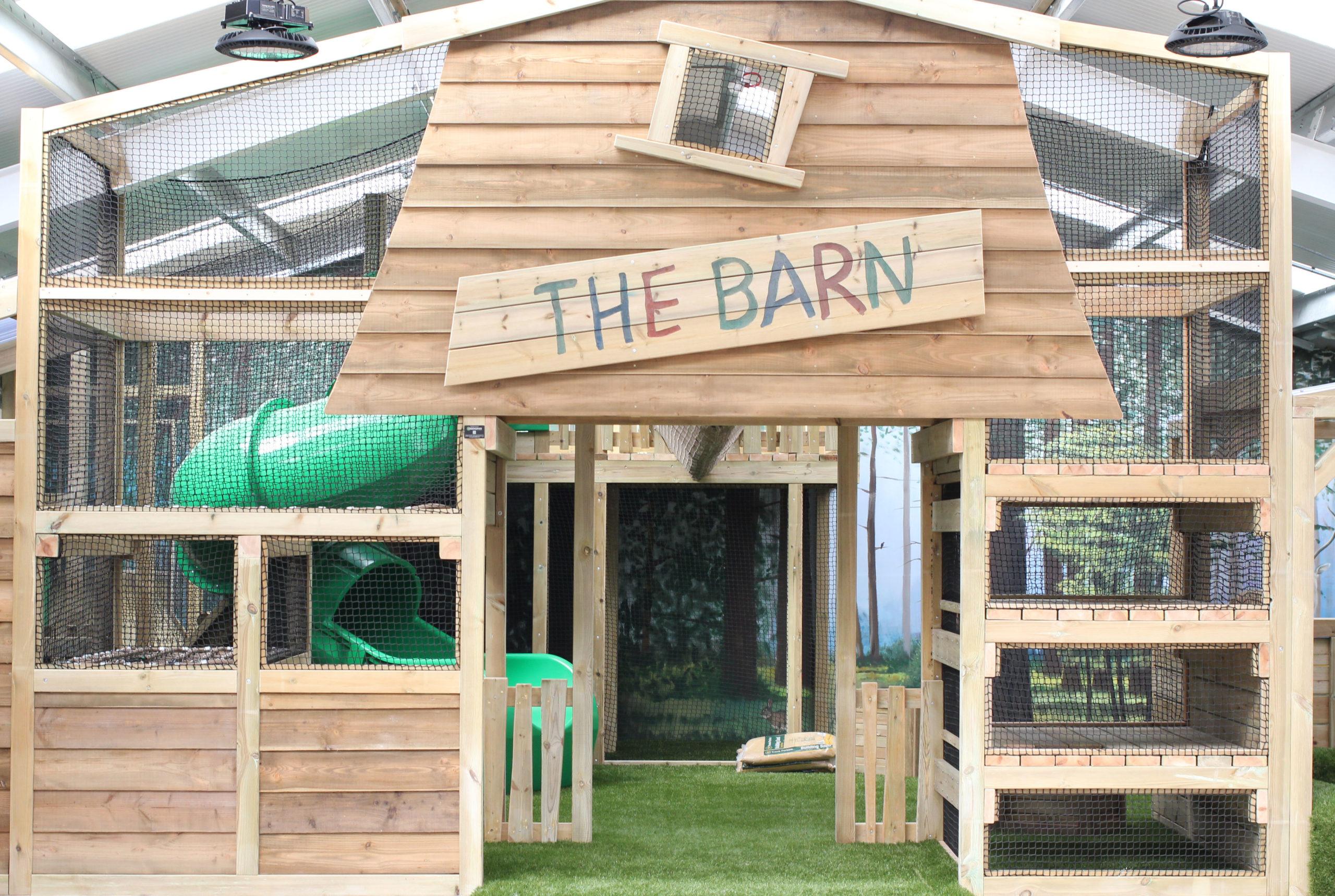 Interior of Play Barn